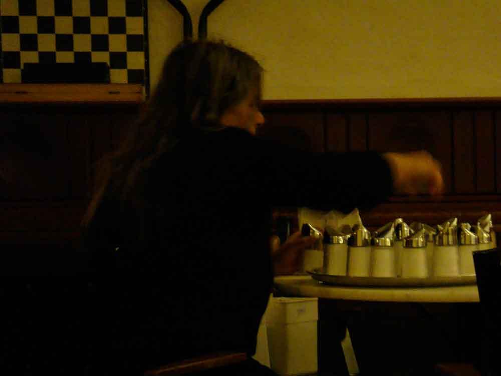 Schach im Cafe Meier Linz