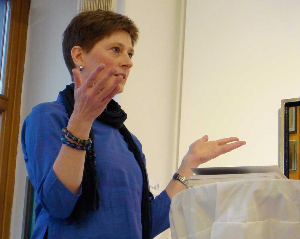 Sonja Holm liest