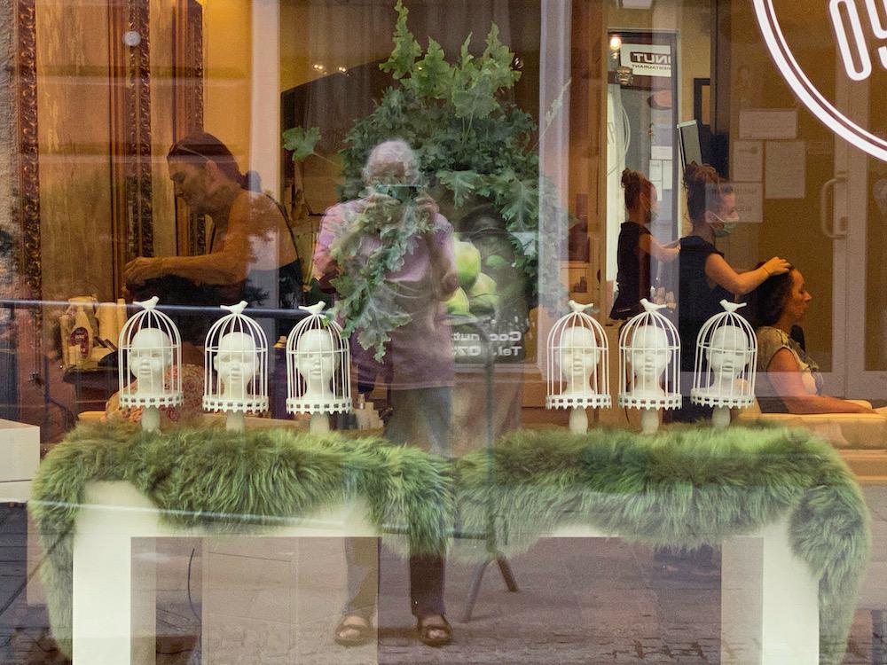 Mehrfachspiegelung mit Kopfwäsche Marienstraße Friseur Linz