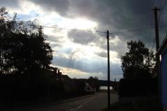 Wolkenthema - dramatisch