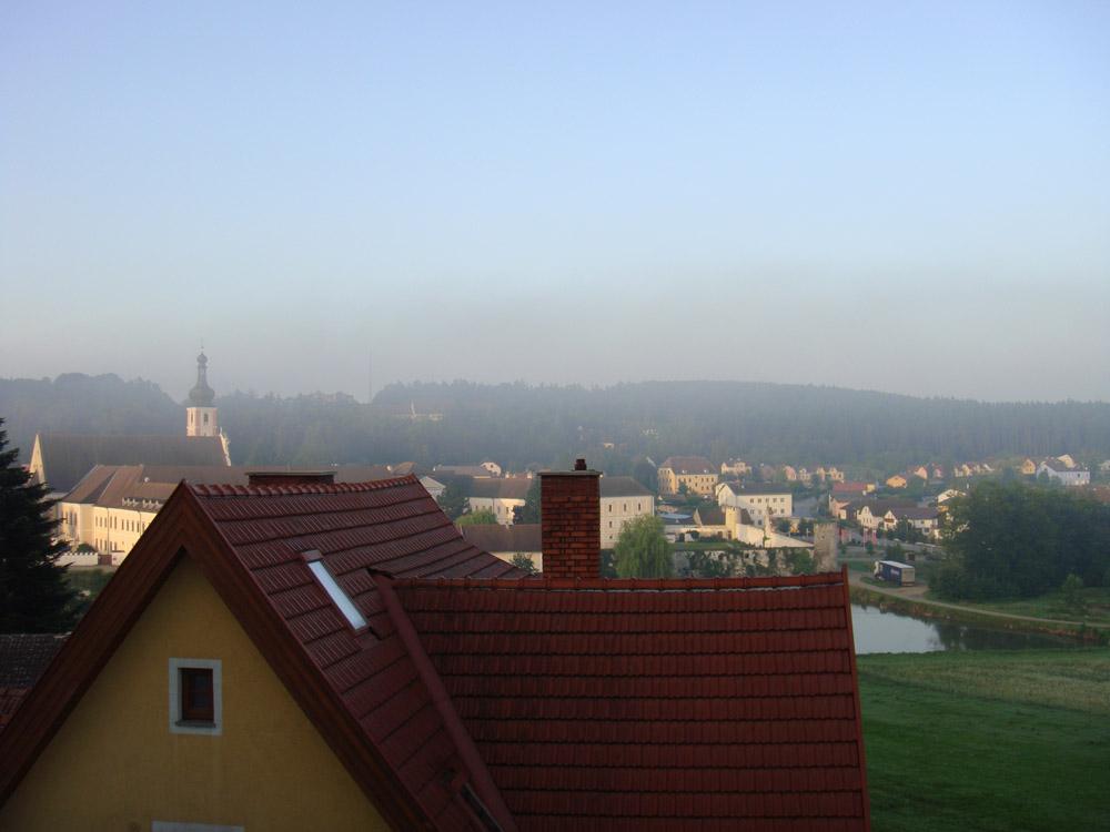 Malerische Morgendämmerung