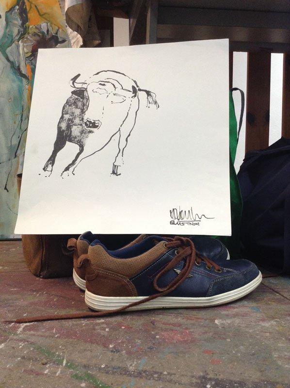 Die Schuhe des Meisters