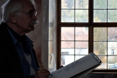 Englischer Zeichner (Foto: Ingrid Seipel)